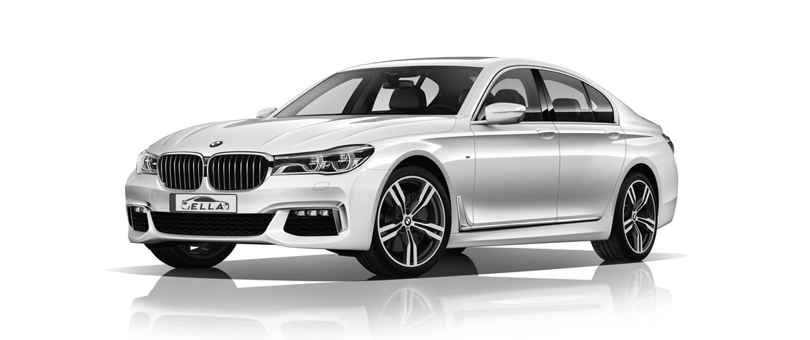 Car rental Ella Martin - BMW 740D xDrive (only with the driver)