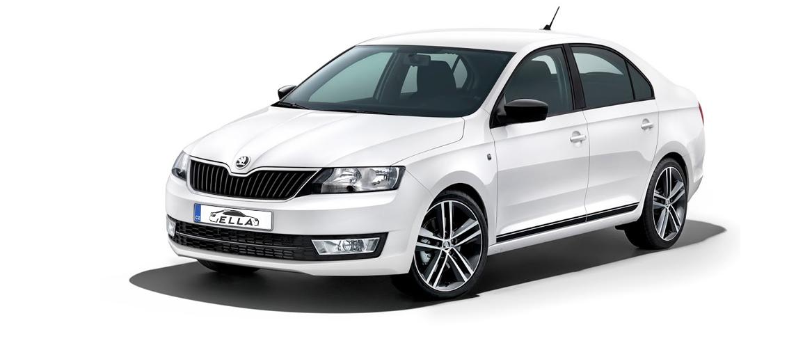 Car rental Ella Martin - Škoda Rapid 1.0 TSI Extra