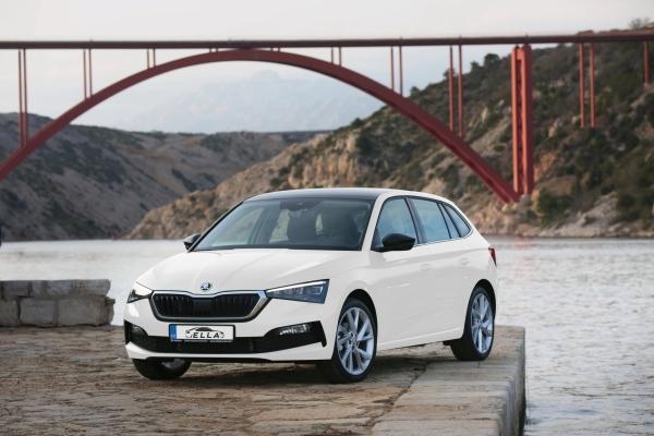 Car rental Ella Martin Škoda SCALA 1.0 TSI
